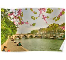 So Much Beauty In Paris .. It's In Seine Poster