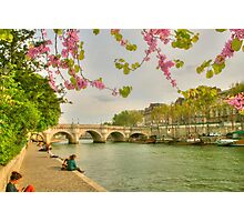 So Much Beauty In Paris .. It's In Seine Photographic Print