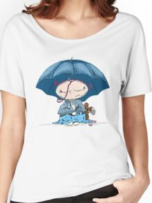 SADNESS SNUGGLE Women's Relaxed Fit T-Shirt
