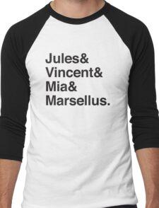 Jules & Vincent & Mia & Marsellus Men's Baseball ¾ T-Shirt