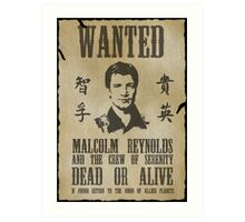 Wanted Captain  Art Print