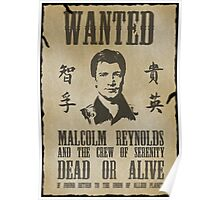 Wanted Captain  Poster