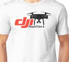 DJI Phantom 4 New Drone black Unisex T-Shirt