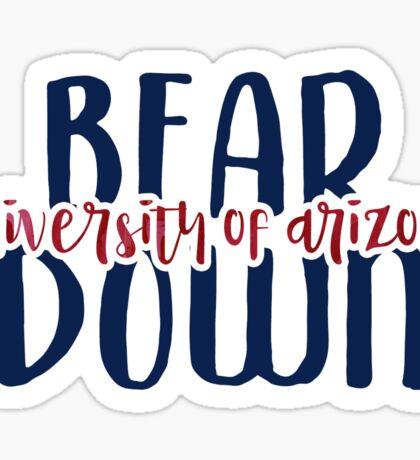 University of Arizona - Style 9 Sticker
