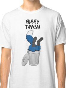 Furry Trash - Blue Fox Classic T-Shirt