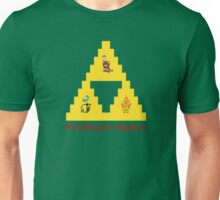 8-Bit Deathly Hallows Unisex T-Shirt
