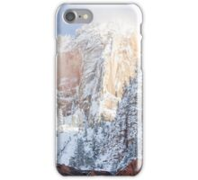 Hills over the clouds. iPhone Case/Skin