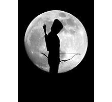 Moon Arrow  Photographic Print