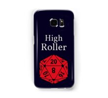 High Roller D20, Dungeons and Dragons Samsung Galaxy Case/Skin
