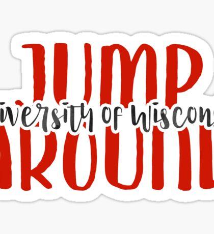 University of Wisconsin - Style 9 Sticker