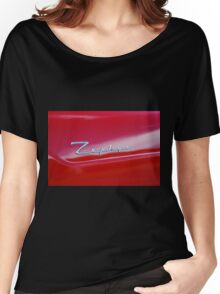 Red Zephyr Badge Women's Relaxed Fit T-Shirt