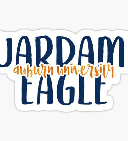 Auburn - Style 9 Sticker
