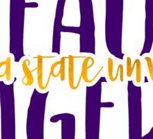 Louisiana State University - Style 9 Sticker