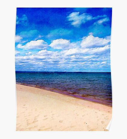 Shores of Lake Superior Poster