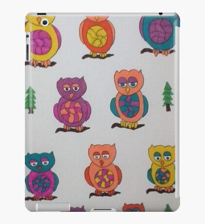 Unique Owls iPad Case/Skin