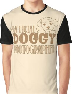 Official doggy photographer Graphic T-Shirt