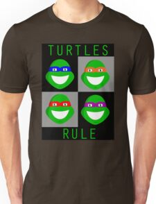 Ninja Turtles Rule Unisex T-Shirt