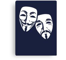 Anonymous Theatre Canvas Print