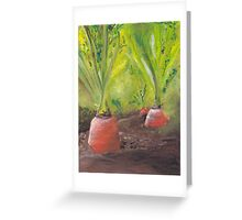 Carrots for life Greeting Card