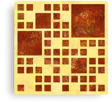 Nemissos V1 - painted squares Canvas Print