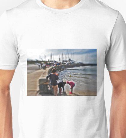 Orange Cup , children playing Mothers beach Mornington VIC AUS  Unisex T-Shirt