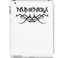 Numenera black iPad Case/Skin