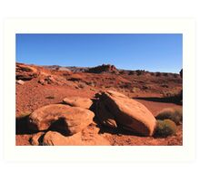 Southwest Desert: Four Corners Art Print
