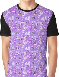Spooky Pokemon Friends Graphic T-Shirt