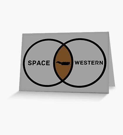 Space Western?  Greeting Card