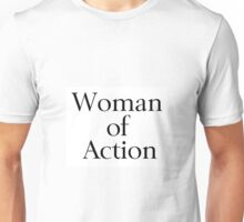 Woman of Action Unisex T-Shirt