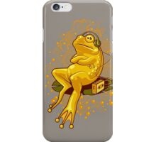 FROGGIE IN RELAX MODE iPhone Case/Skin