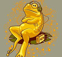 FROGGIE IN RELAX MODE by MEDIACORPSE