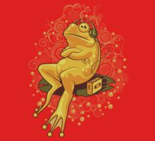 FROGGIE IN RELAX MODE Kids Clothes