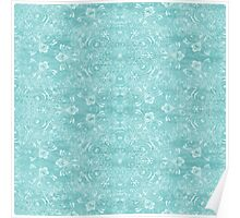 Lace Snowflake Poster