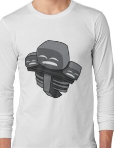 Minecraft Wither Boss Mob Long Sleeve T-Shirt