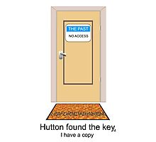 Hutton found the key. I have a copy. Photographic Print