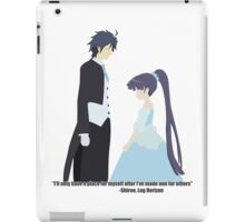 Finding a Place - Log Horizon iPad Case/Skin