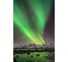 Norwegian Lights Photographic Print