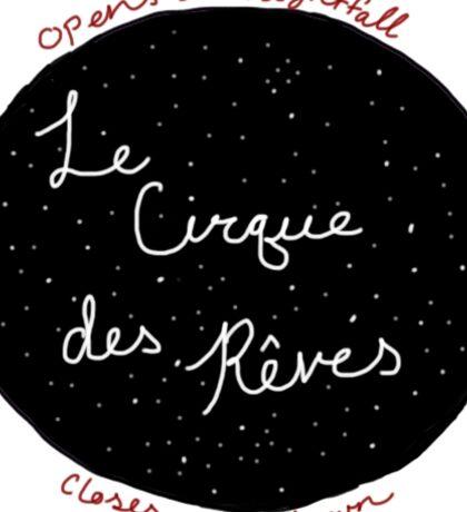 le cirque des reves Sticker