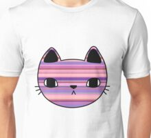 Striped Cat Unisex T-Shirt