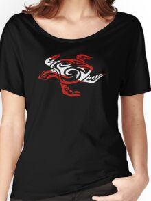 SCUBA DIVE Tribal Sea Turtle  Women's Relaxed Fit T-Shirt