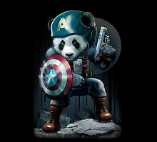 CAPTAIN PANDA by MEDIACORPSE