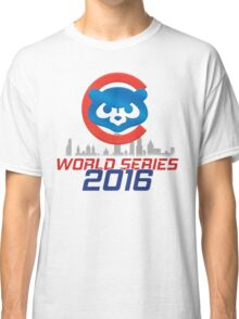 CHICAGO CUBS - WORLD SERIES CHAMPS 2016 Classic T-Shirt