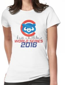 CHICAGO CUBS - WORLD SERIES CHAMPS 2016 Womens Fitted T-Shirt