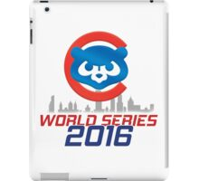 Chicago Cubs - World Series 2016 iPad Case/Skin