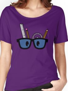 Stationery Nerd Colour Women's Relaxed Fit T-Shirt