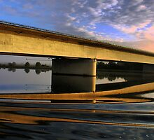 A Bridge Too Many ( 2 ) Regensburg by Larry Lingard-Davis