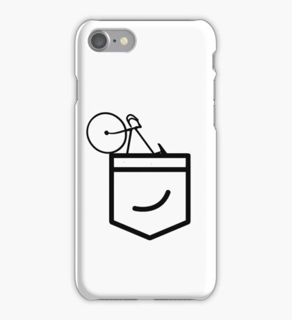 Fixie in the Pocket iPhone Case/Skin