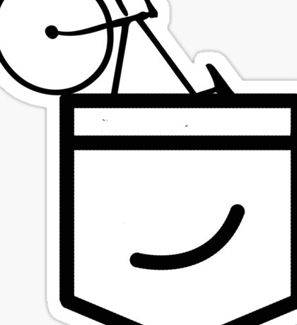 Fixie in the Pocket Sticker