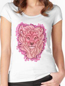 Lion [Steven Universe] Women's Fitted Scoop T-Shirt